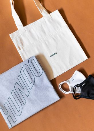 Grey color T-Shirts and Polos . Hundo Essential Pack -