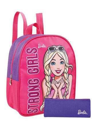 Pink color Bags . Barbie Verity Playpack Bag -