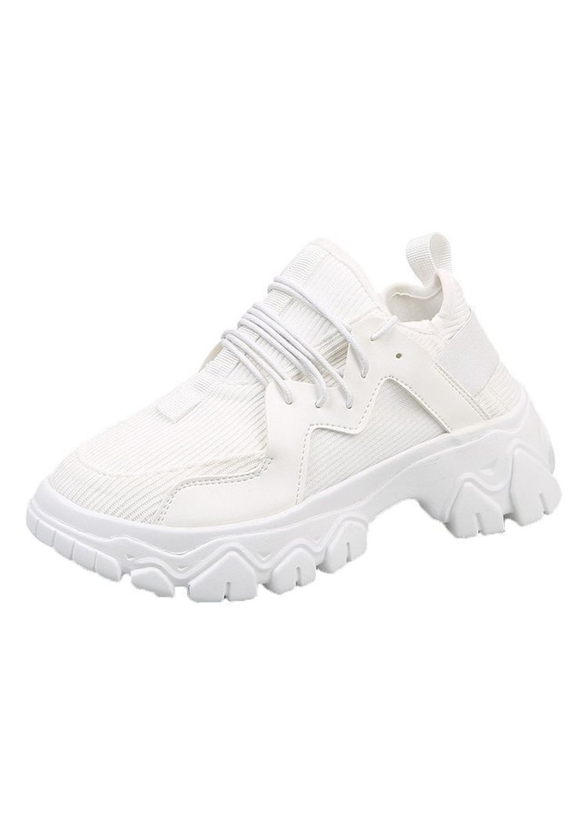 White color Sports Shoes . New Fashion Net Sports Shoes -