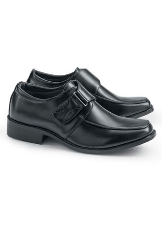 Black color Footwear . Saxony Boy's Shoes -