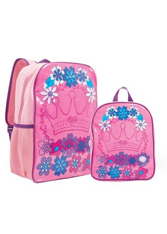Pink color Bags . Tiana Girl's Bag -