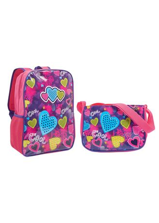 Violet color Bags . Roxanne Girl's Bag -