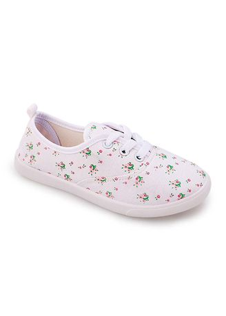 White color Footwear . Quana Kid's Shoes for Girls -