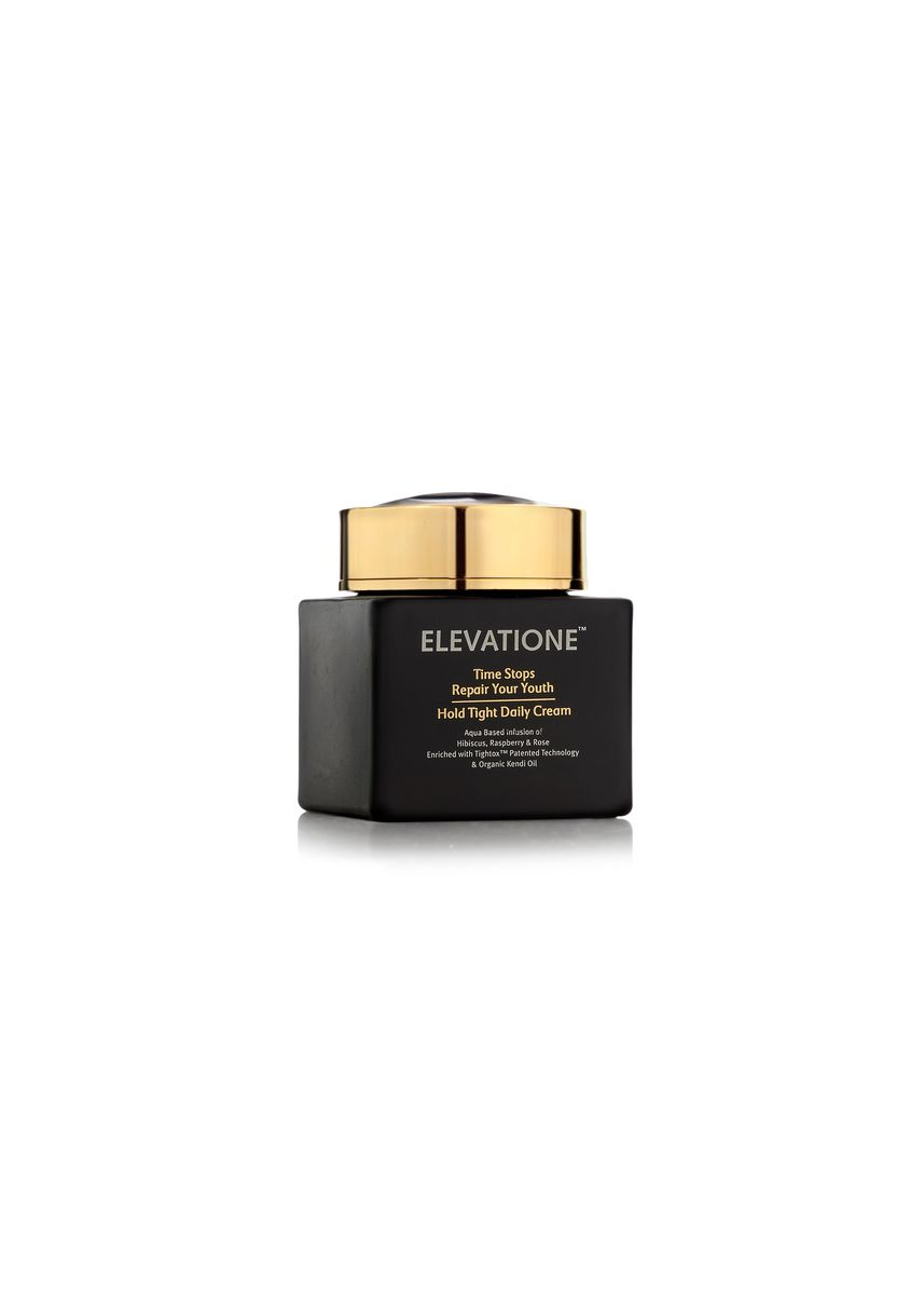 Gold color Face . Elevatione Repair Hold Tight Daily Cream - Repair Your Youth -