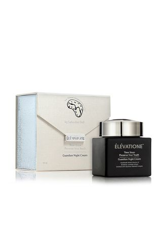 Gold color Face . Elevatione Guardian Night Cream - Preserve Your Youth Collection -