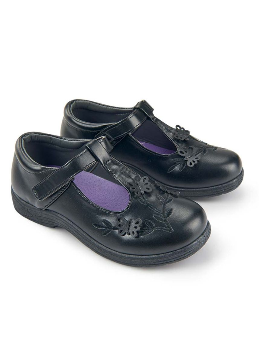 Black color Footwear . Maja Kid's Shoes for Girls -