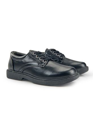 Black color Footwear . Pierson Kid's Shoes for Boys -