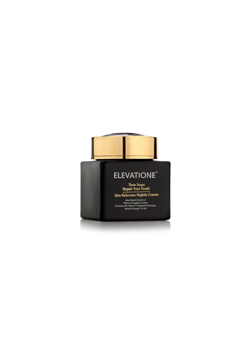 Hitam color Wajah . Elevatione Skin Reformer Nightly Cream - Repair Your Youth Collection -