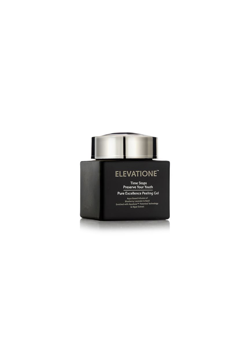 Hitam color  . Elevatione Pure Excellence Peeling Gel - Preserve Your Youth Collection -