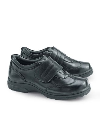 Black color Footwear . Seattle Kid's Shoes for Boys -