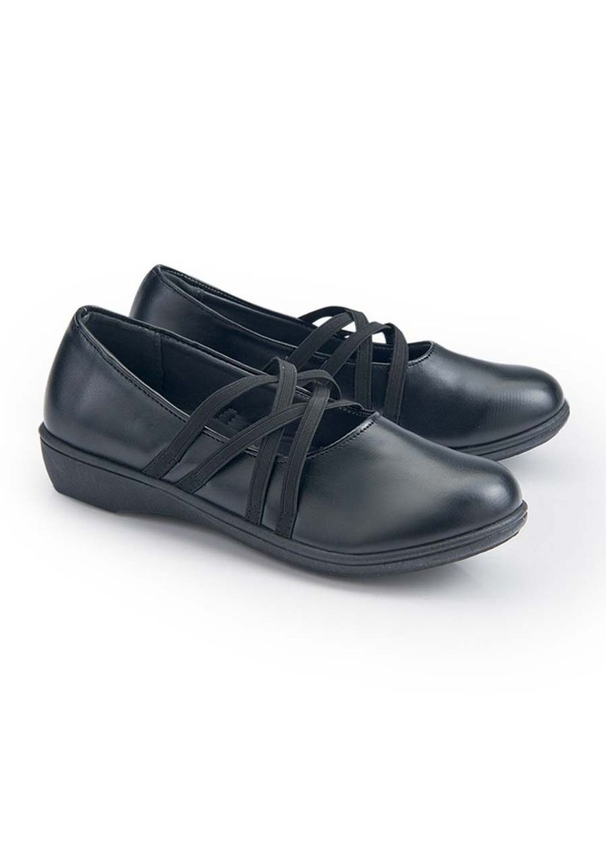 Black color Footwear . Patria Kid's Shoes for Girls -