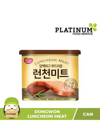 No Color color Canned Food . Dongwon Luncheon Meat, 340g -