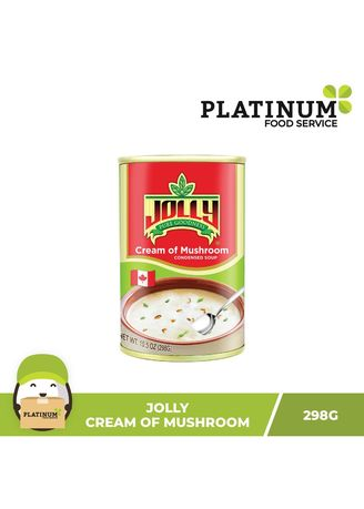 No Color color Canned Food . Jolly Cream of Mushroom, 298g -