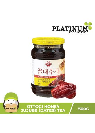 No Color color Health Drinks & Supplements . Ottogi Honey Jujube (Red Dates) Tea, 500g -