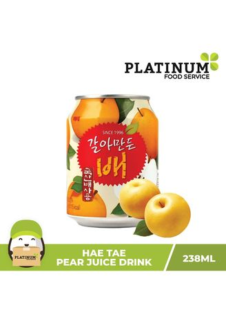 No Color color Health Drinks & Supplements . Hai Tai Pear Juice, 238mL -