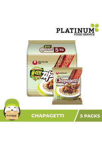 No Color color Snacks . Korean Chapagetti 5 Packs -