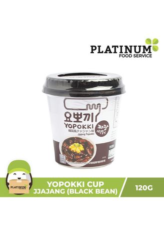 No Color color Snacks . Yopokki Jjajang Cup, 120g -