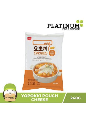No Color color Snacks . Yopokki Cheese Pouch, 240g -