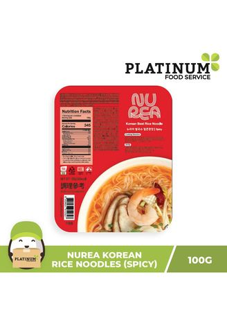 No Color color Snacks . Young Poong Rice Noodles (Spicy) -