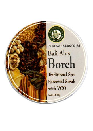No Color color Body Scrub . Bali Alus Lulur Spa Cream 100 gr Boreh -