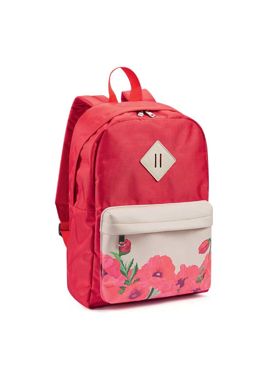 Red color Backpacks . Ophelia 3-In-1 Women's Bag -