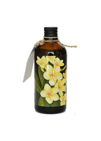 No Color color Bath Oils . Bali Alus Massage Oil Skin Nutrition 100ml Frangipani -