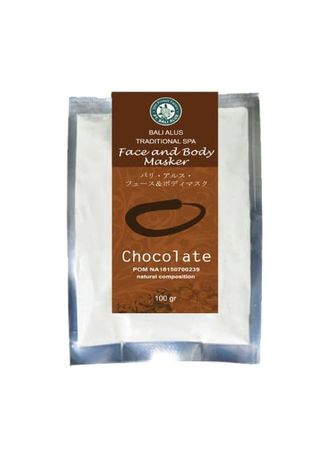 No Color color Masks . BALI ALUS Face and Body Mask - Chocolate -