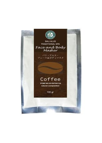 No Color color Masks . BALI ALUS Face and Body Mask - Coffee -
