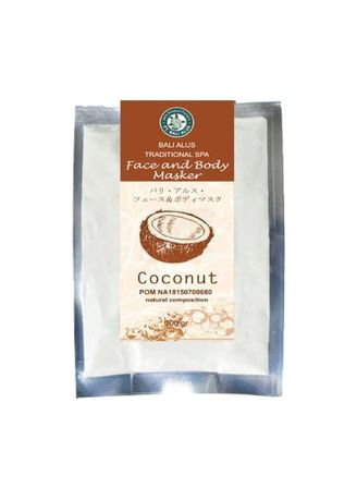 No Color color Masks . BALI ALUS Face and Body Mask - Coconut -