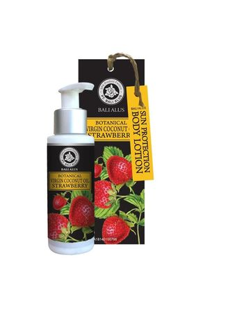 No Color color Moisturizers . BALI ALUS Body Lotion SP 100ml - Strawberry -