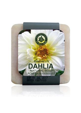 White color Body Bars . BALI ALUS Sabun Natural SPA Dahlia -