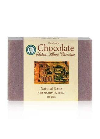 Brown color Body Bars . BALI ALUS Sabun Natural SPA 110gr - Chocolate -