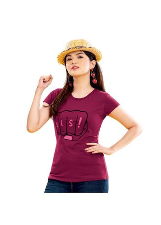 Maroon color Tops and Tunics . Zysel Women's Blouse -