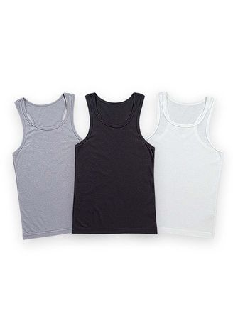 Multi color T-Shirts and Polos . Rylander Men's Tank Top (Set of 3) -