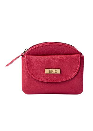 Maroon color Wallets and Clutches . Zivared Women's Wallet -