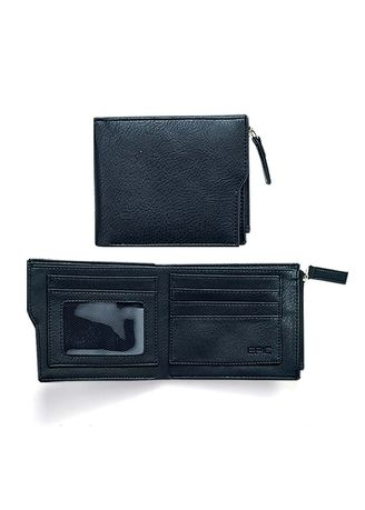Black color Wallets . Matrix Men's Wallets -
