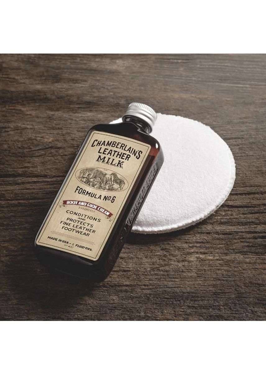 No Color color Polishes & Cleaners . Chamberlains Leather Milk - Boot & Shoe Cream No. 6 -