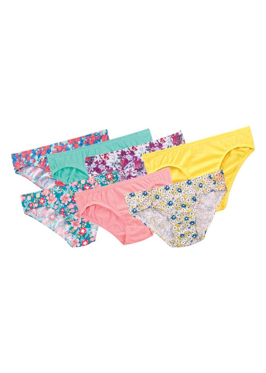 Multi color Panties . Vittoria Women's Panties (Set of 7) -