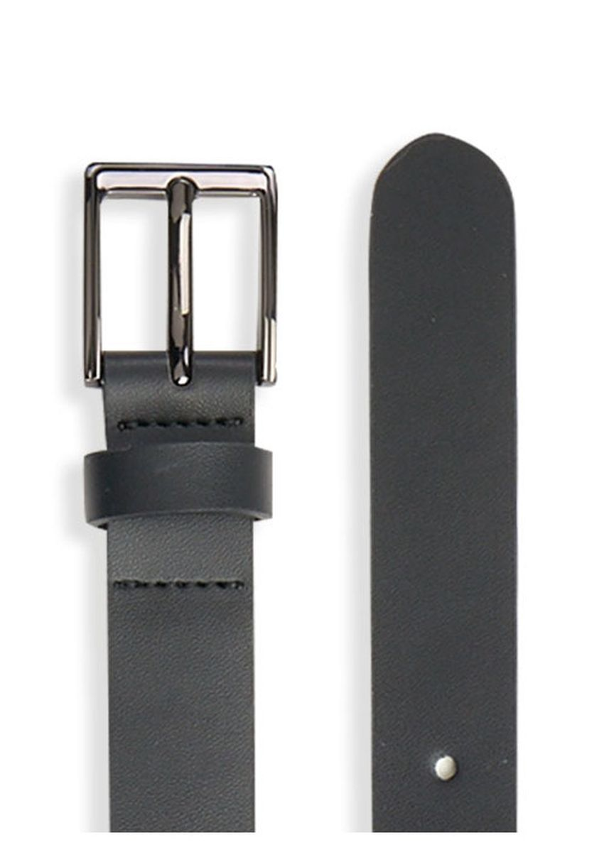 Black color Accessories . Omie Boy's Belt -