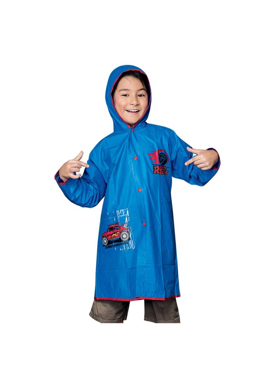 Blue color Tops . Nile Boy's Raincoat -