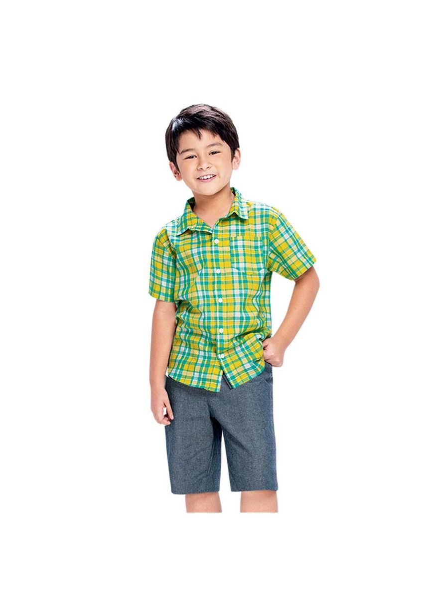 Multi color Tops . Willcox Button Down Polo and Shorts -