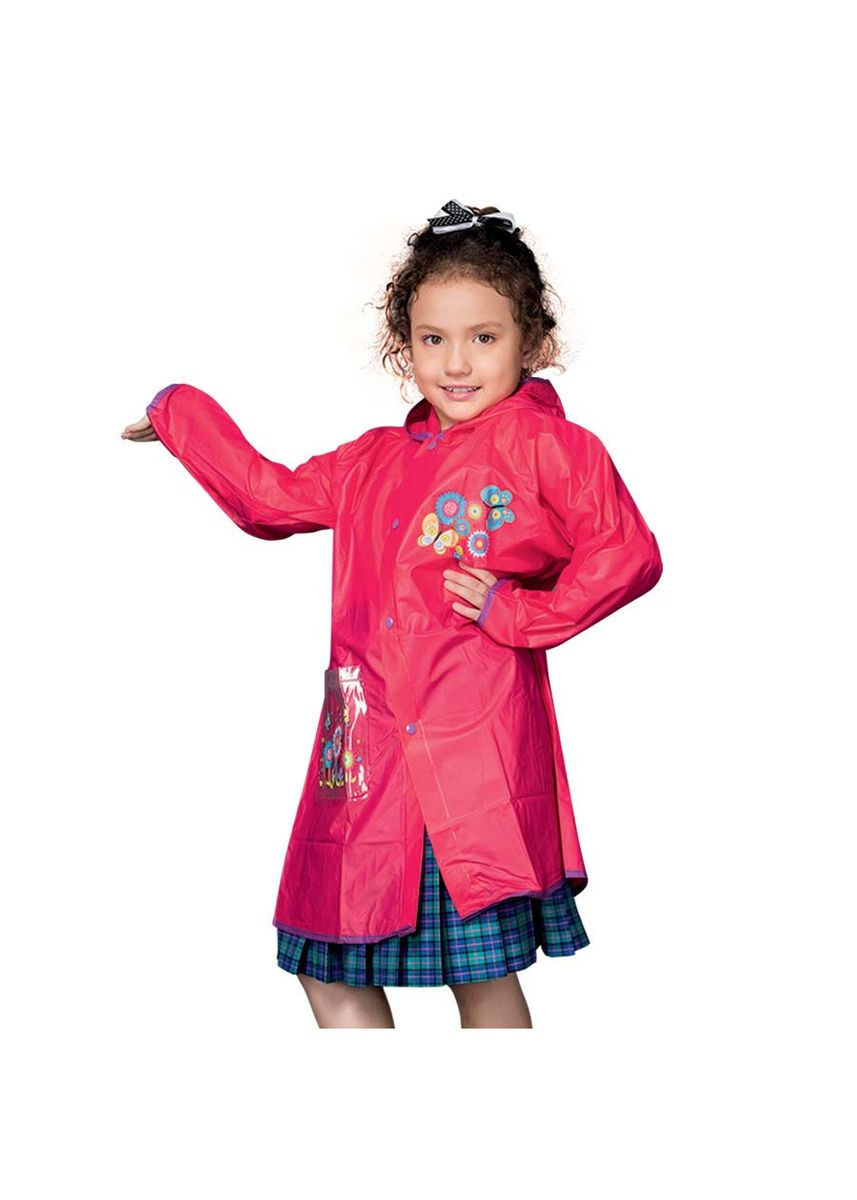 Pink color Tops . Mayette Girl's Raincoat -