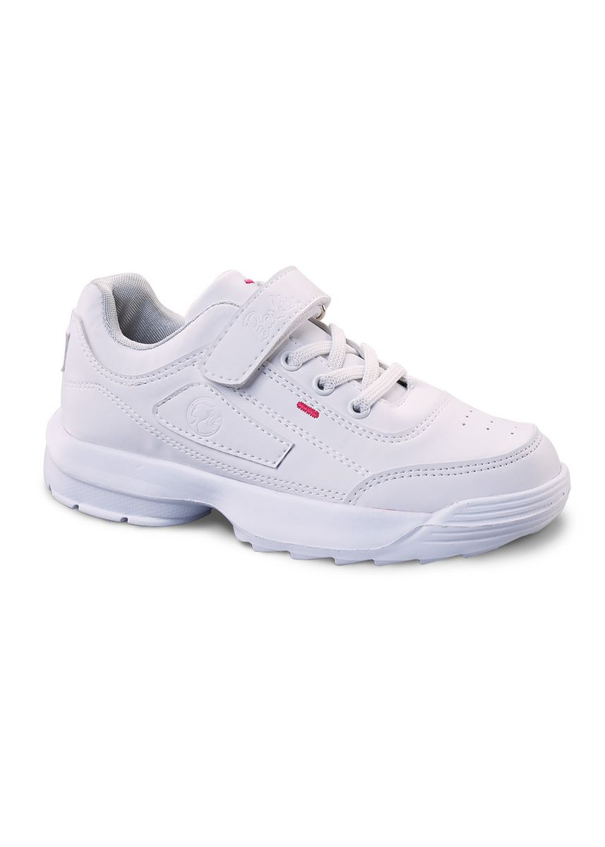 White color Footwear . Barbie Milady Girl's Shoes -