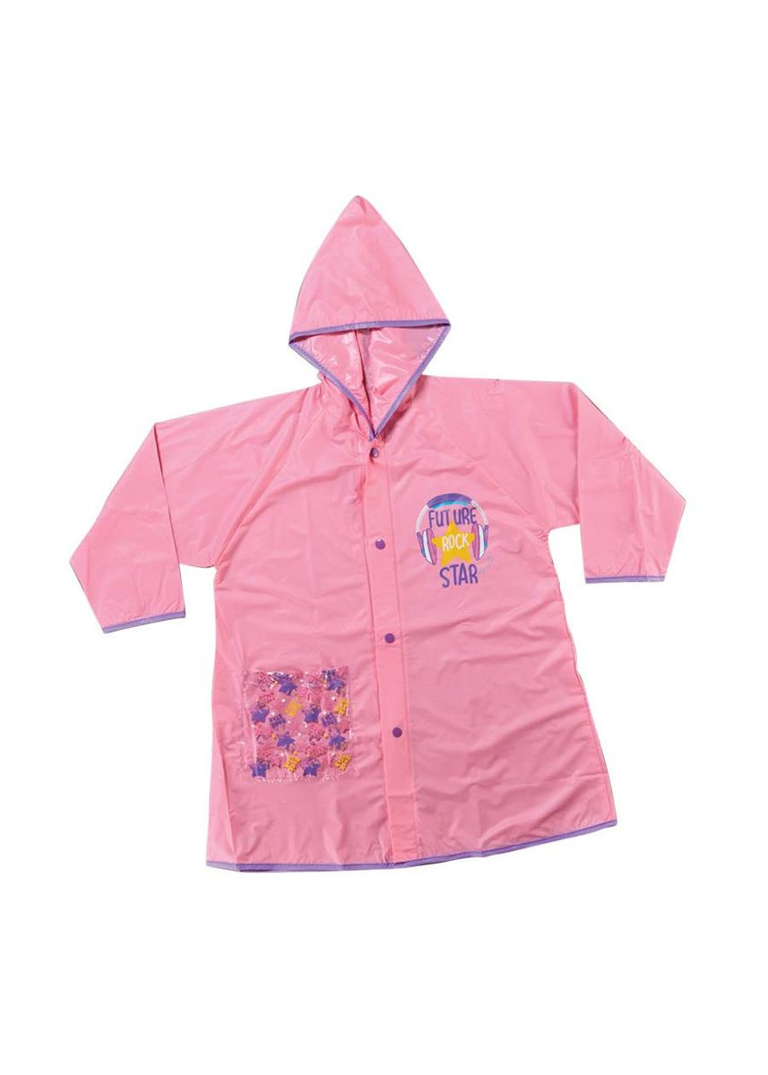Pink color Tops . Novie Girl's Raincoat -
