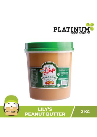 No Color color Snacks . Lily's Peanut Butter Original, 2kg -