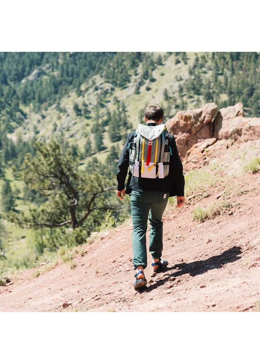 Silver color Backpacks . Topo Designs Mountain Pack -