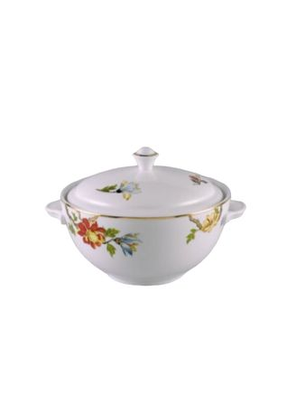 White color Kitchen . Dahlia - Soup Tureen -