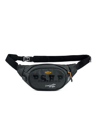 Black color Messenger Bags . Pushop-Waistbag Pria Xride -