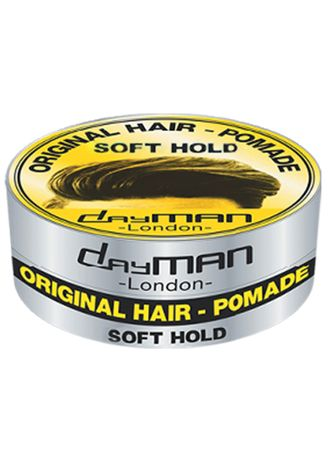 Putih color Styling Rambut . Dayman Hair Pomade-Soft Hold 80 Gr -