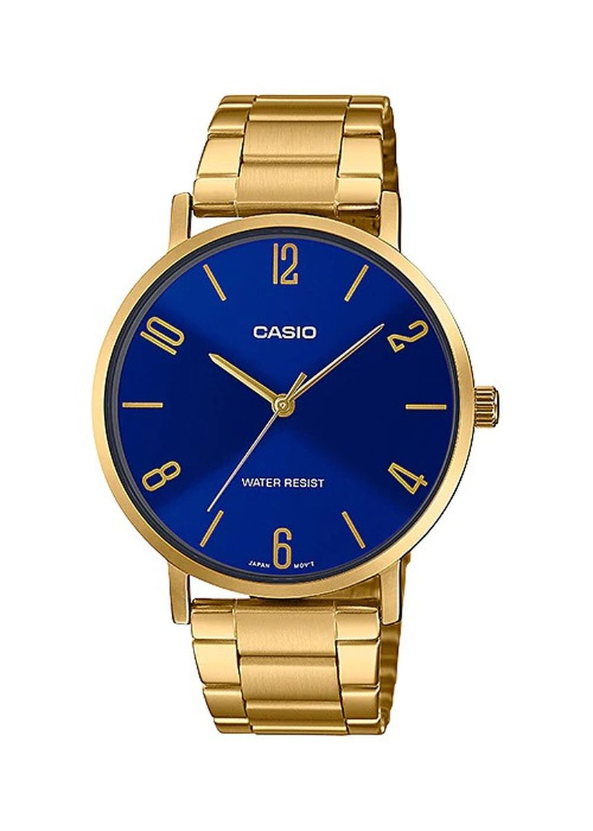 Blue color Analog . Casio Quartz Men's Analog Watch -